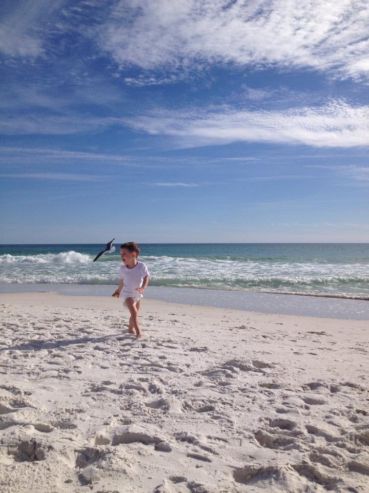 GS on the beach in Destin FL.