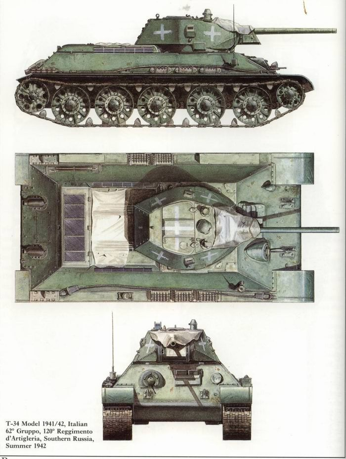 Tanque T-34 - URSS