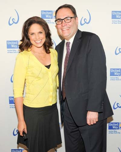 Soledad O'Brien And United Way Of New York City President