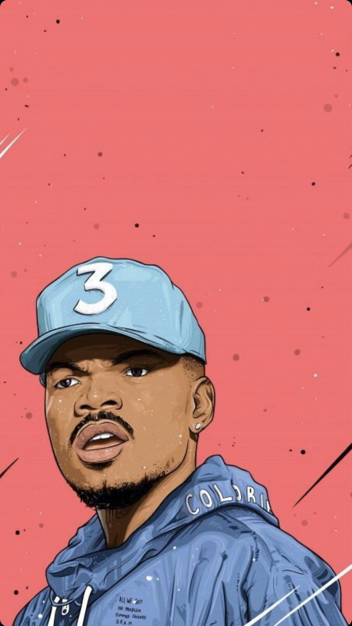 Chanceperdomo Chanceperez Chancequotes Chancetherapper Chancetherapperpainting Ch Chance The Rapper Wallpaper Chance The Rapper Art Hip Hop Artwork