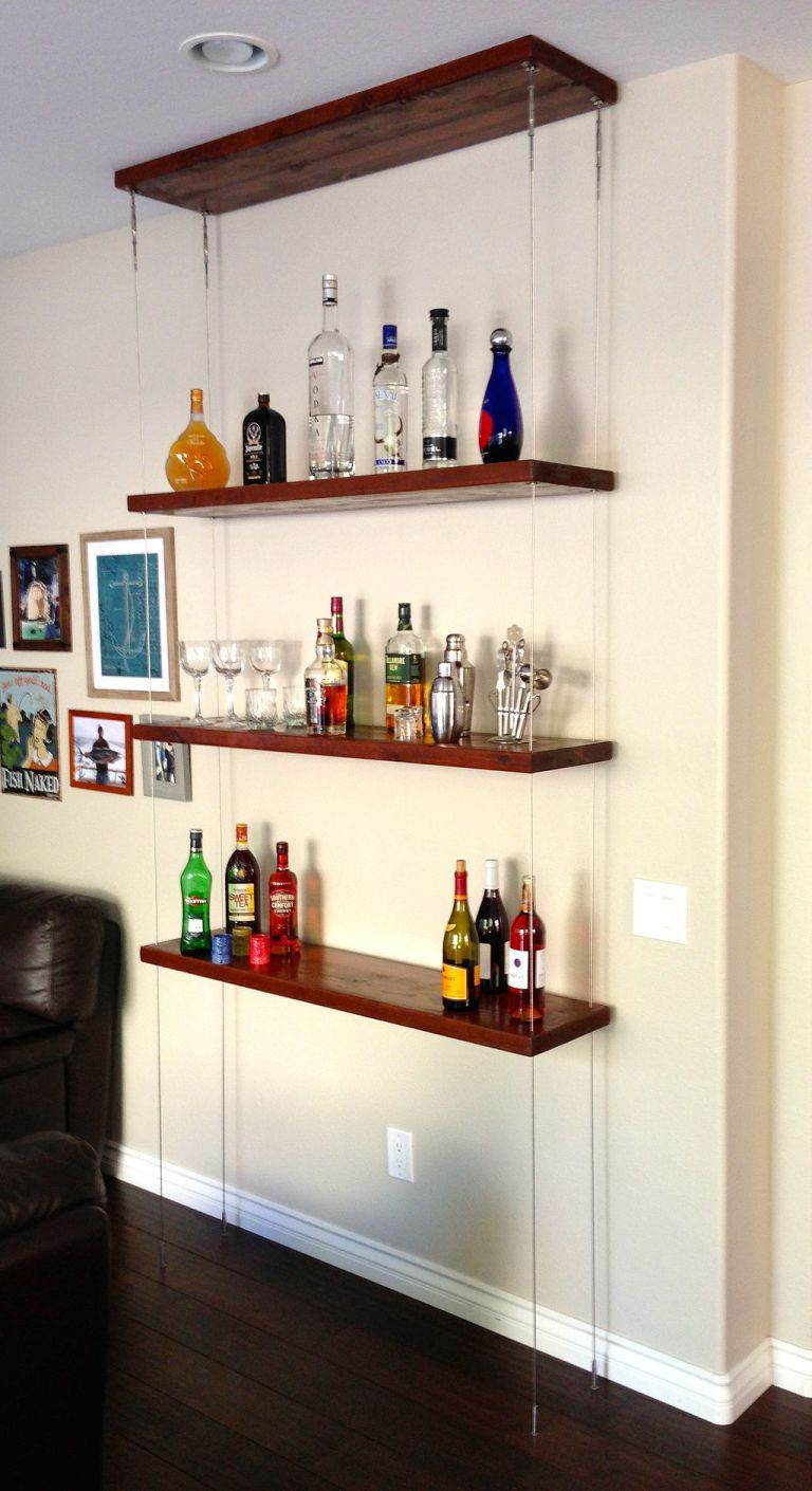 Best Ideas Hanging Shelves Help You Maximize And Personalize The Space 6 Decorating Shelves Hanging Shelves Ceiling Shelves