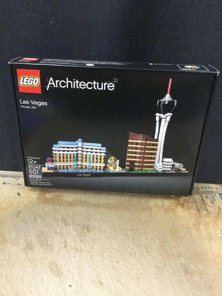 Genuine LEGO Architecture 21047 Las Vegas 501 Pieces Brand New Sealed