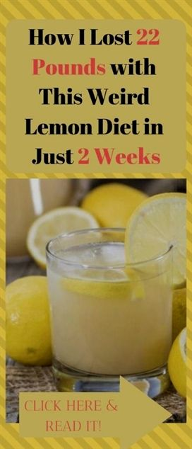 How I Lost 22 Pounds With This Weird Lemon Diet In