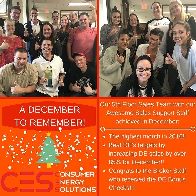 Go Team We Had An Awesome December Working With Direct Energy We Crushed Their Sales Target Goals By An Extra 85 Ces M Energy Solutions Flooring Sale