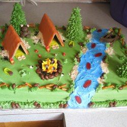 Boy cakes & http://www.cakecentral.com/gallery/i/1914180/camping | Boy Scout ...