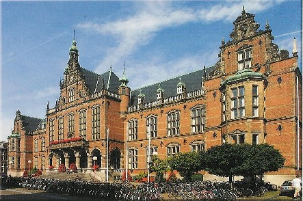 Rug Academia Gebouw Groningen Groningen Nederland Holland
