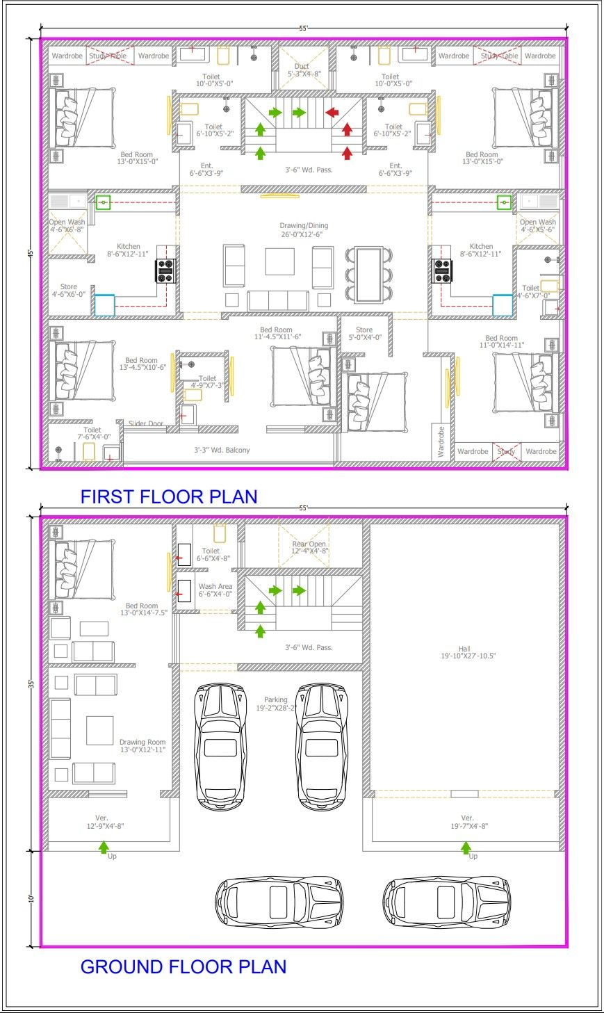 Pin By Richa Jain On Architecture In 2020 Indian House Plans Luxury House Plans House Map