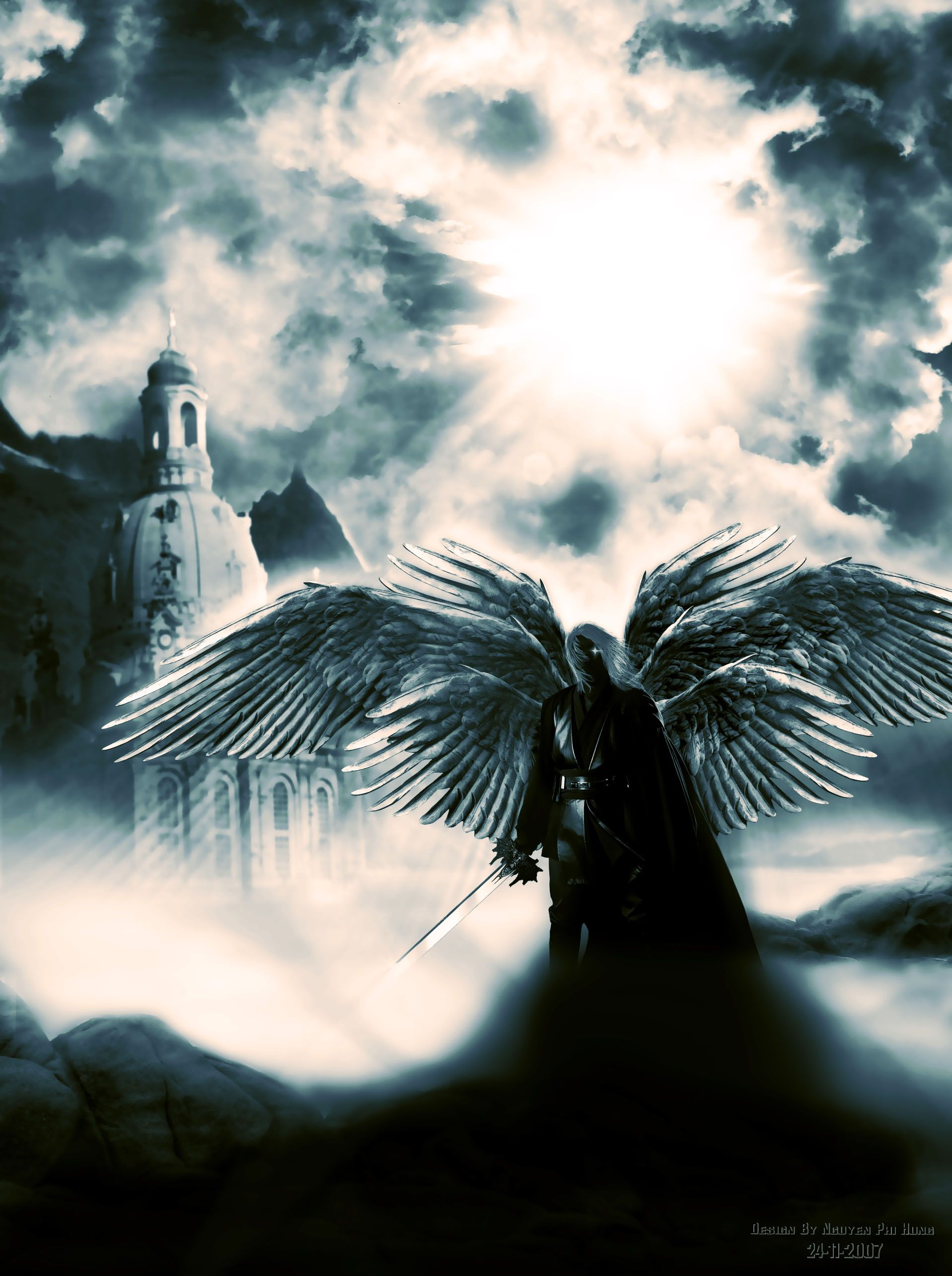 Evil Angel Is Coming