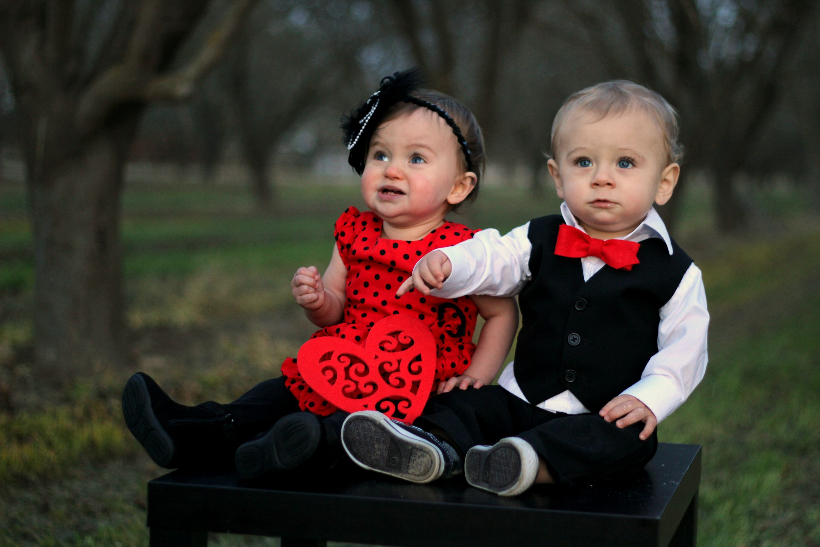 Baby couple wallpapers photo