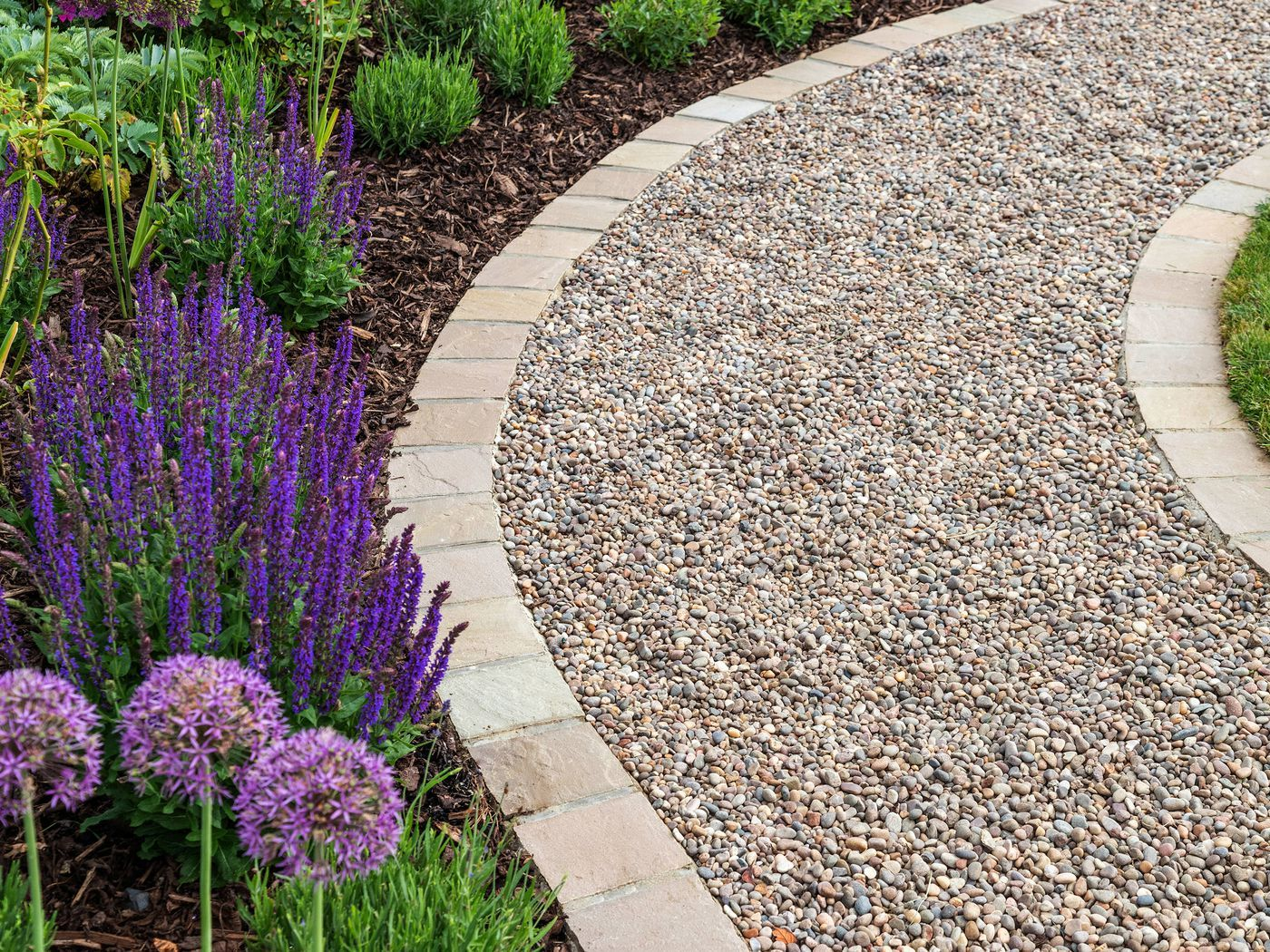 How to Lay a Budget-Friendly Gravel Path | Gravel path ...