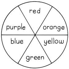 Image Result For Kids Colour Wheel Template Art For School