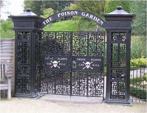 The Poison Garden Inglaterra