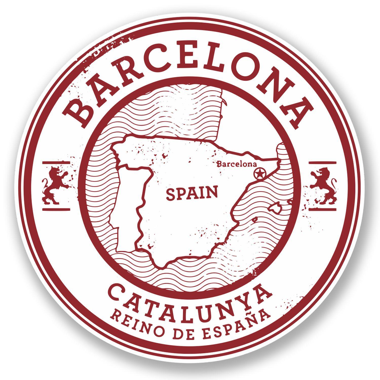 2 x Sevilla Seville Spain Vinyl Sticker Laptop Travel Luggage Car #6580