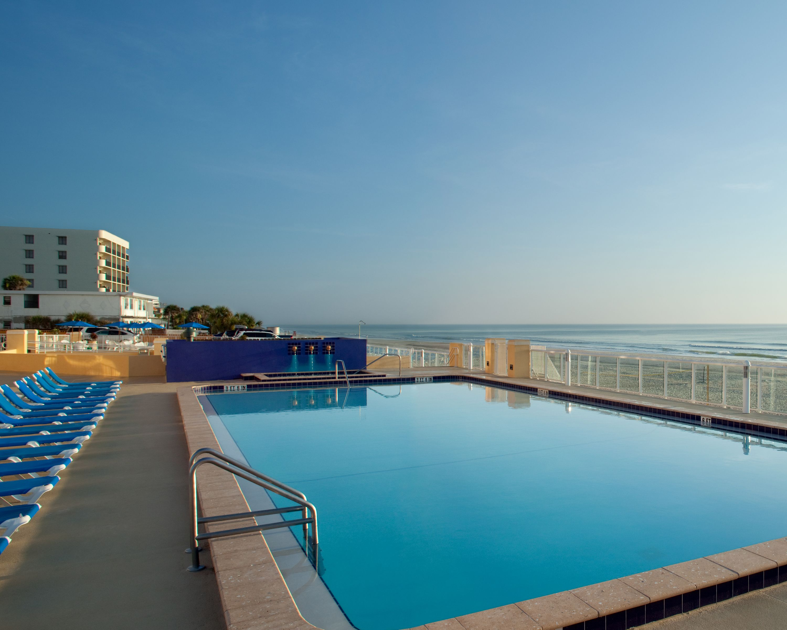 Listen To Soothing Ocean Sounds From The Olympic Sized Pool At Bluegreen Vacations Casa Del Mar An Ascend Resort In Ormond Beach Fl