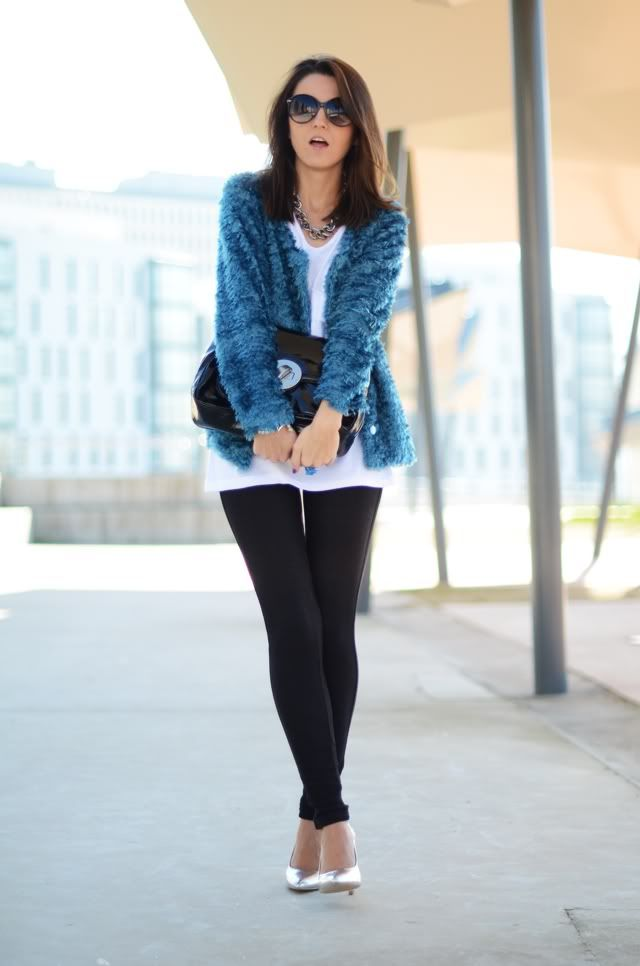blue strange furry - Lovely Pepa by Alexandra