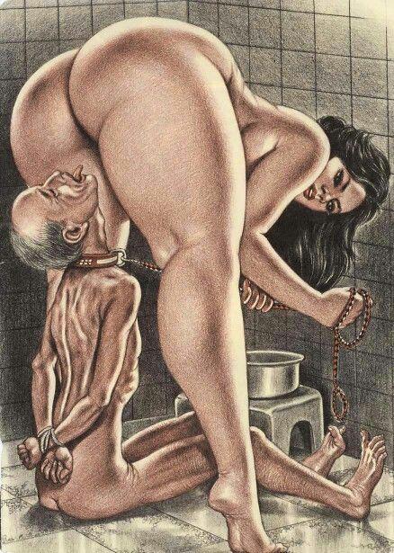 Straight couples using dildo