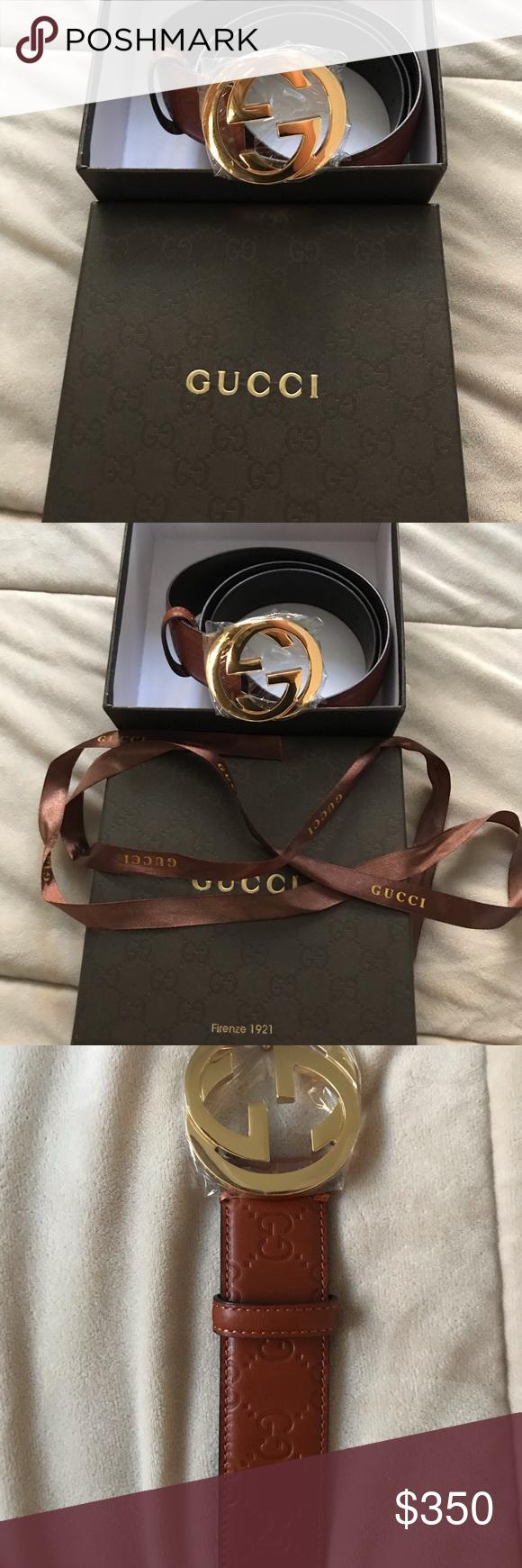 556869f03ed Gucci signature belt Brand new authentic Gucci belt size 44