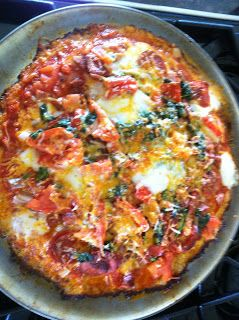Kelly's Thoughts: Cauliflower Pizza Crust