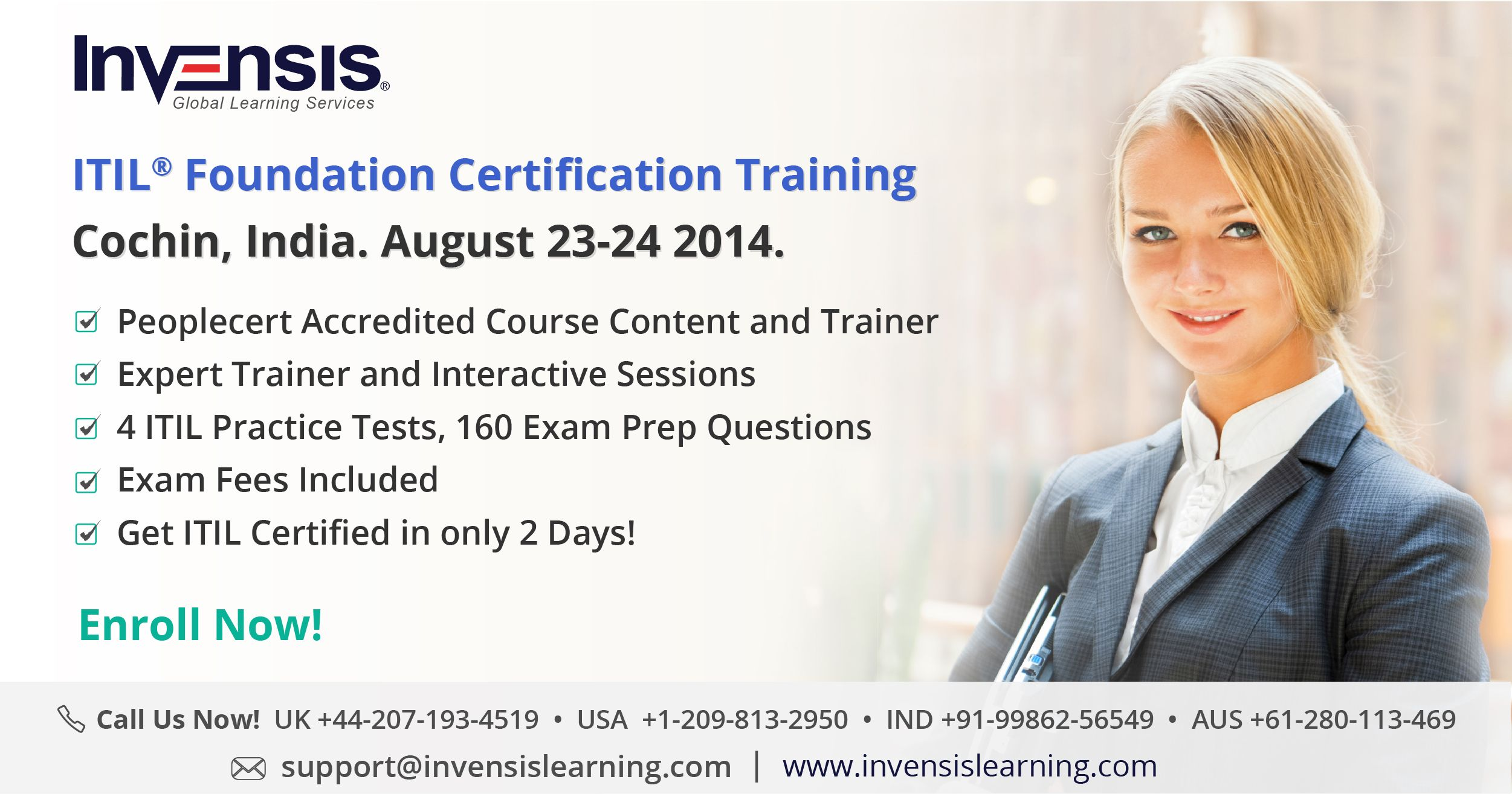 Itil foundation exam certification training in cochin india on visit httpgoozcsepo to enroll or call 91 9986256549 features of our itil foundation certification training peoplecert accredited 4 1betcityfo Gallery