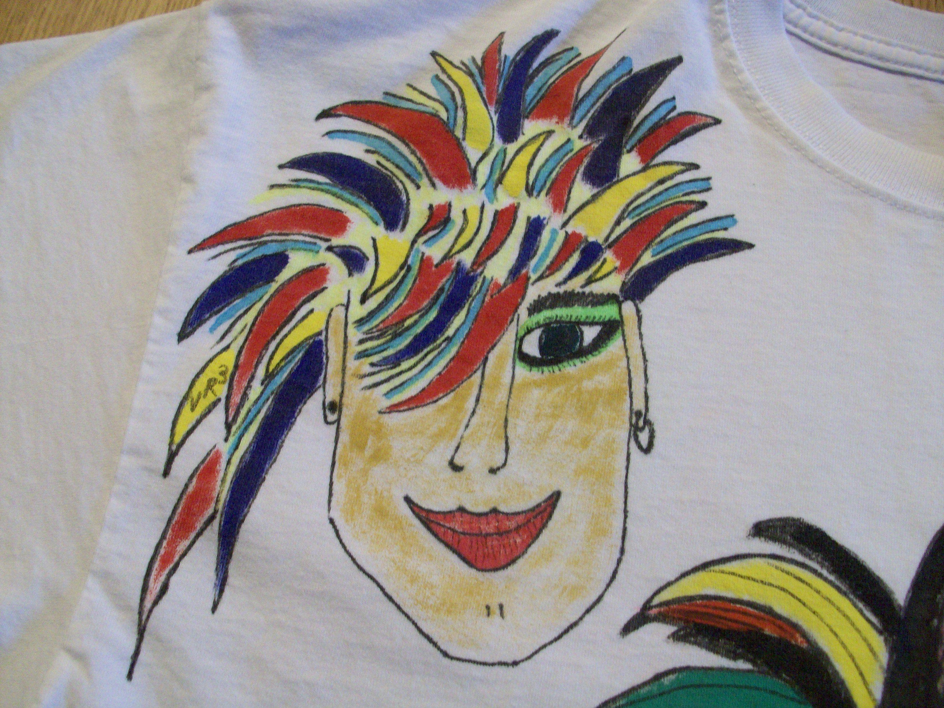 T Shirt - Original Art by Victoria