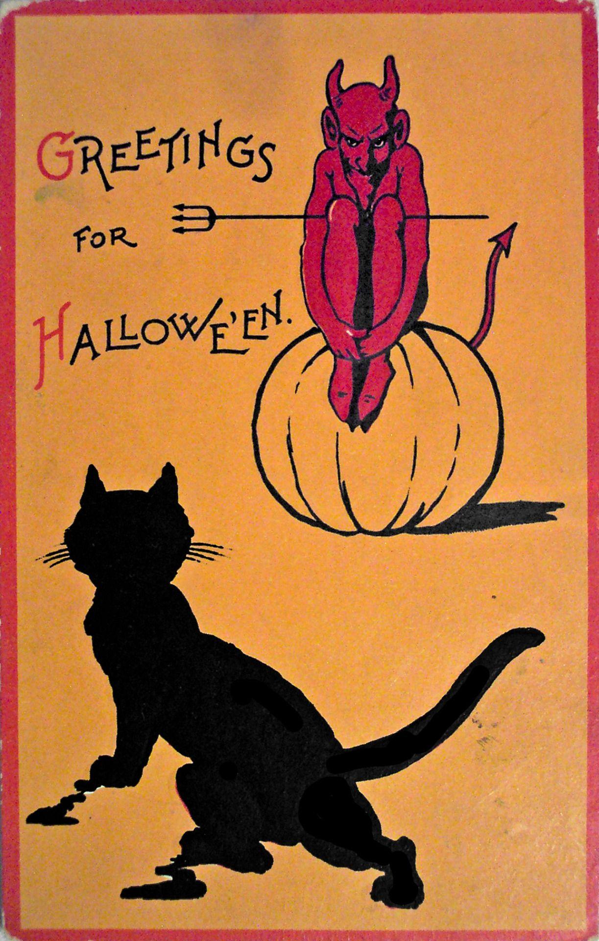Danskjavlarna Greetings For Halloween Date Unknown