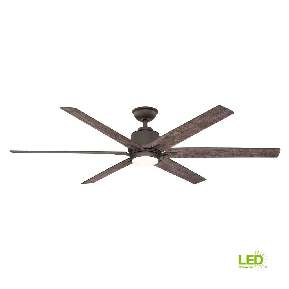 Home Decorators Collection Kensgrove 64 In Led Espresso Bronze Ceiling Fan With Remote Control Yg493b Eb In 2020 Bronze Ceiling Fan Ceiling Fan Ceiling Fan With