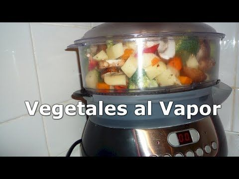 Vegetales Al Vapor Verduras En La Vaporera Philips Recetas