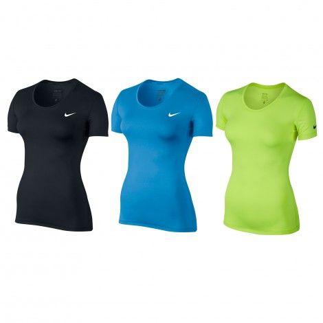 #Nike Pro Cool #fitnessshirt dames