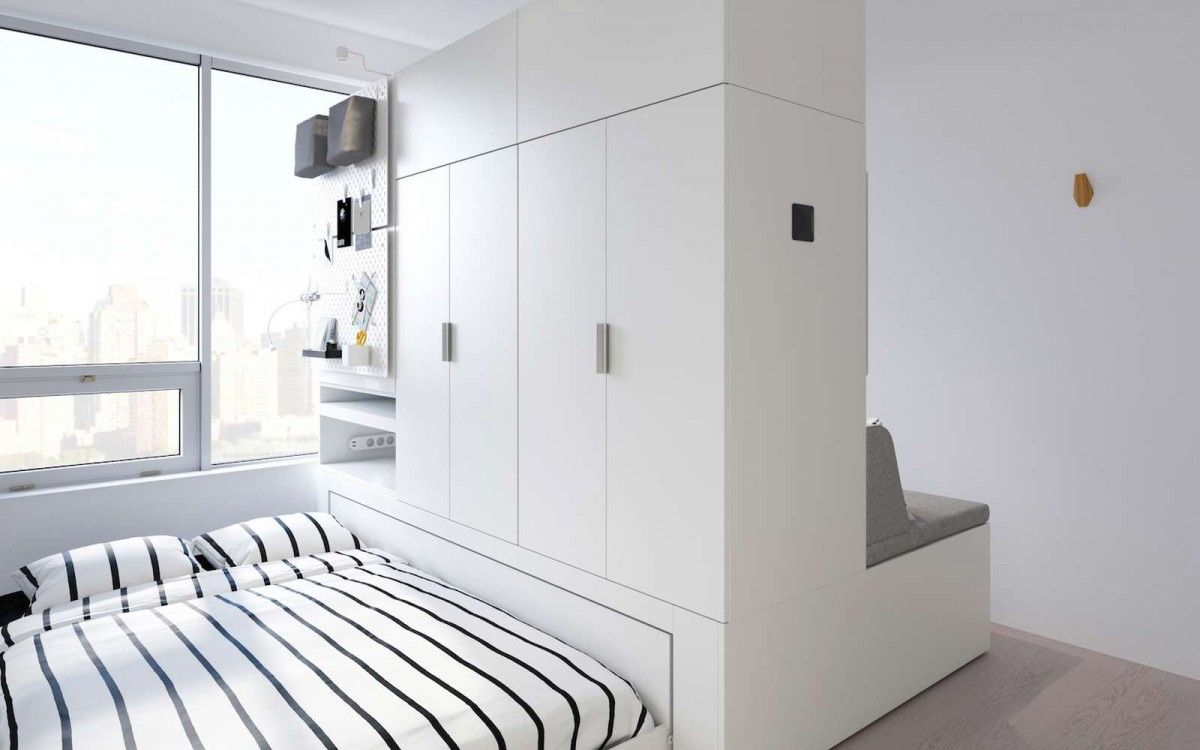 Ikea Lance Un Meuble 4 En 1 Ideal Pour Les Petits Espaces En 2020 Avec Images Meubles Pour Petits Espaces Petit Espace De Vie Petits Espaces Ikea