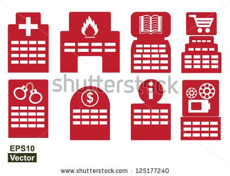 HOSPITAL, health, clinic, urban, buildings, medical Free Icon of Public  Services Filledoutline