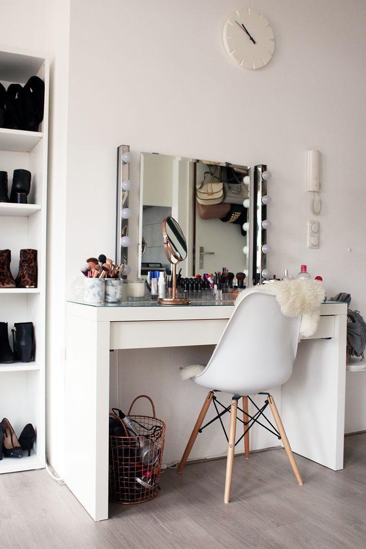 Schminktisch 60 Ideen Zum Dekorieren Und Organisieren Neu Dekoration Stile Zimmer Einrichten Zuhause Schminkzimmer