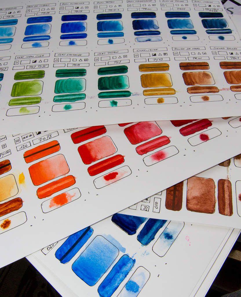 Les Etiquettes Pour Mieux Connaitre Ses Couleurs Peindre A L