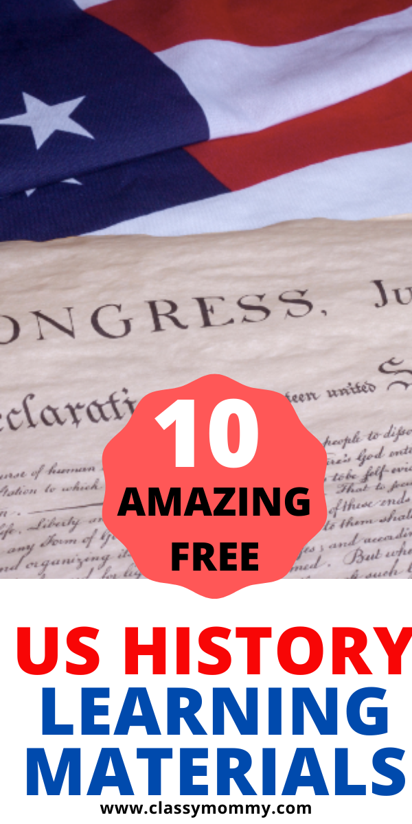 Photo of 10 Awesome Free History and Government Remote Learning & Homeschool Materials