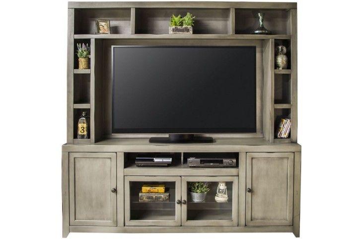 Astoria gray entertainment center from legends furniture
