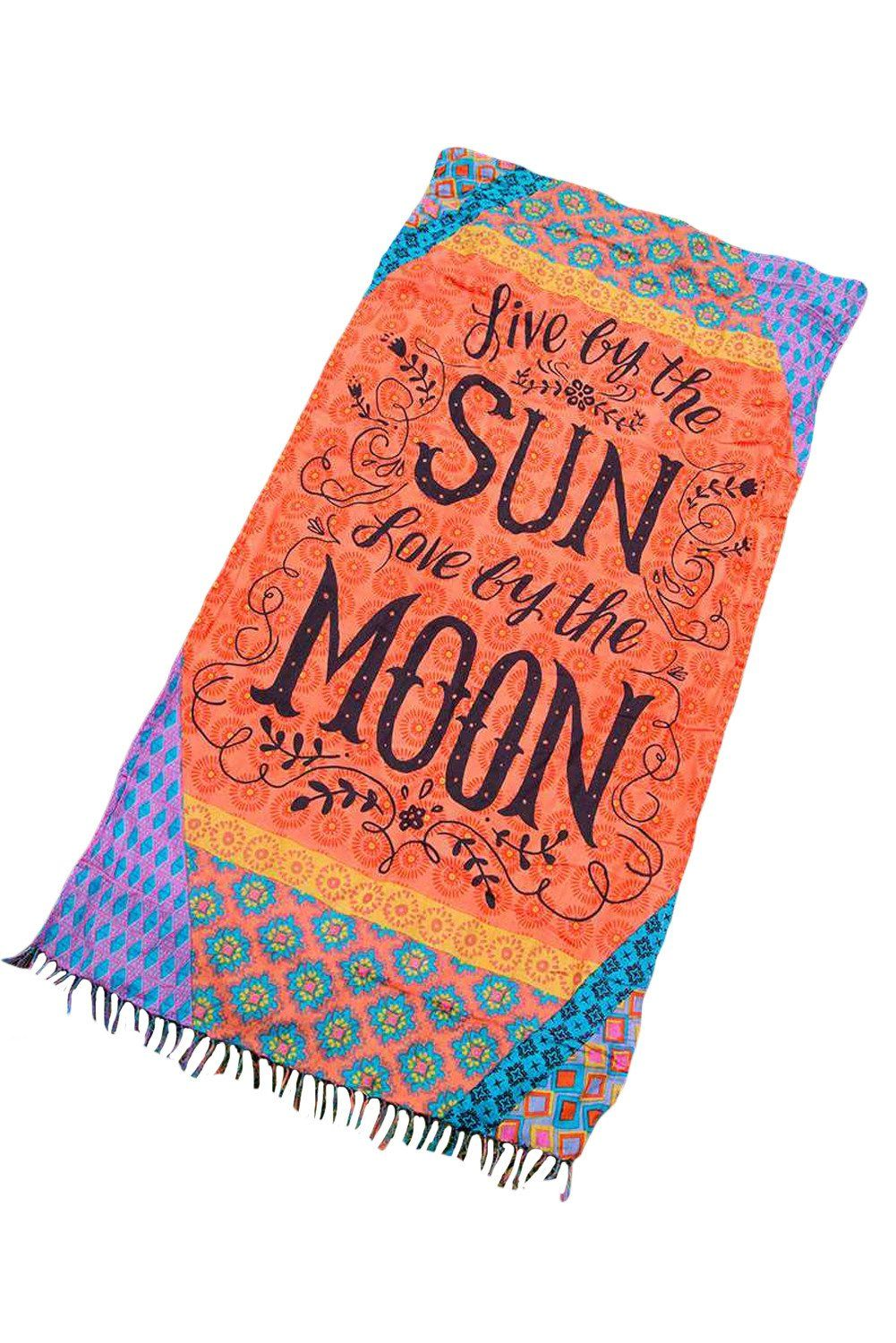 Live By The Sun Love By The Moon Beach Towel Happy Pretty Photooftheday Followme Love Bootylicio Beach Towel Blanket Beach Towel Moon Beach
