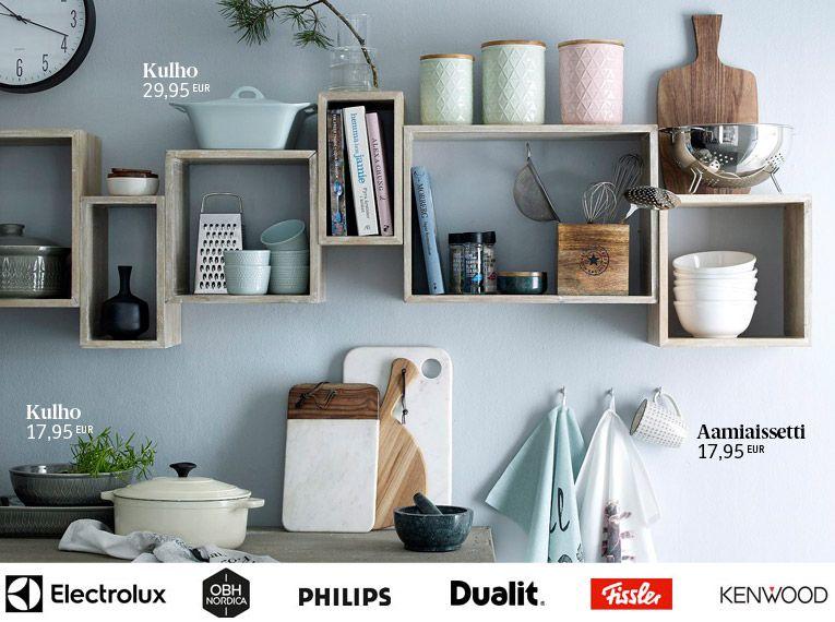 Keittiövälineet & keittiökoneet netistä – ellos.fi