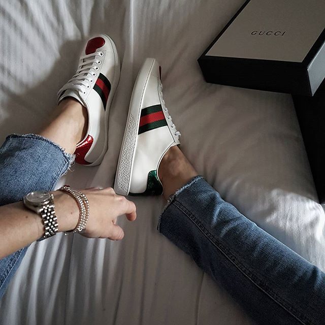 55604550d06 Gucci Ace heart sneakers
