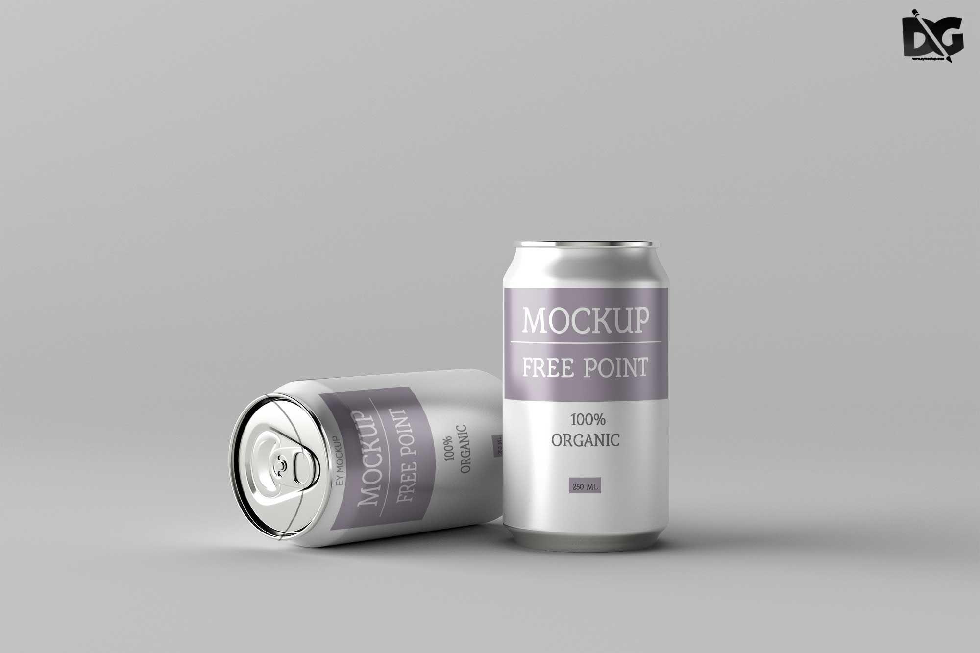Free Beer Can Label Packaging Mockup Free Packaging Mockup Packaging Mockup Free Beer