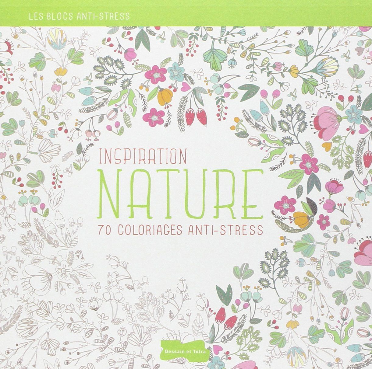 Amazon Inspiration Nature 70 coloriages anti stress Collectif Livres