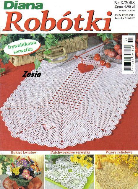 crochet - Diana 3 - 2008 - Raissa Tavares - Picasa Web Albums #crochetmagazine