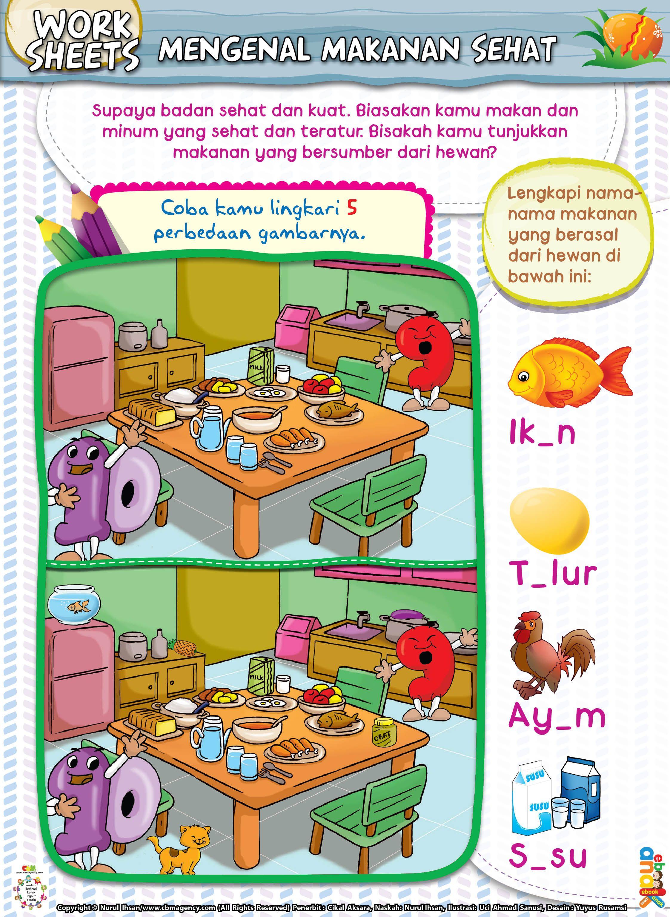 Mengenal Makanan Sehat