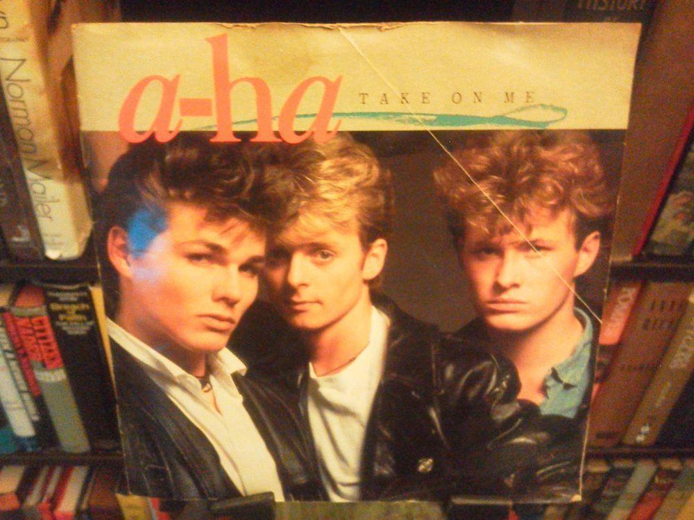 A Ha Take On Me Love Is Reason 45 Rpm Vinyl Single W Sleeve