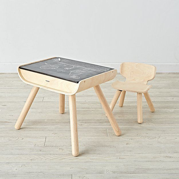 Toddler Desk And Chair Set The Land Of Nod Toddler Desk