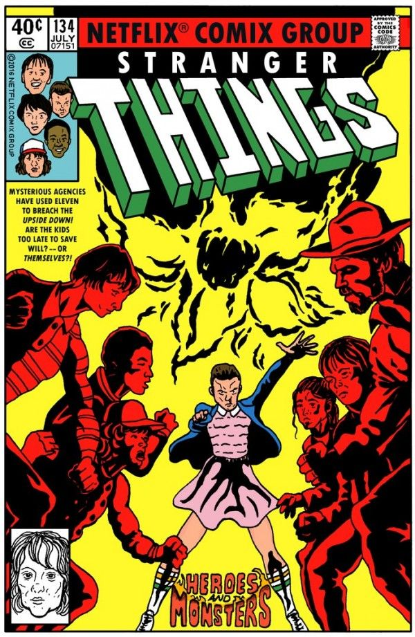 X Men 134 In The Fashion Of Netflix S Stranger Things Marvel Comic Books Comic Covers The Uncanny
