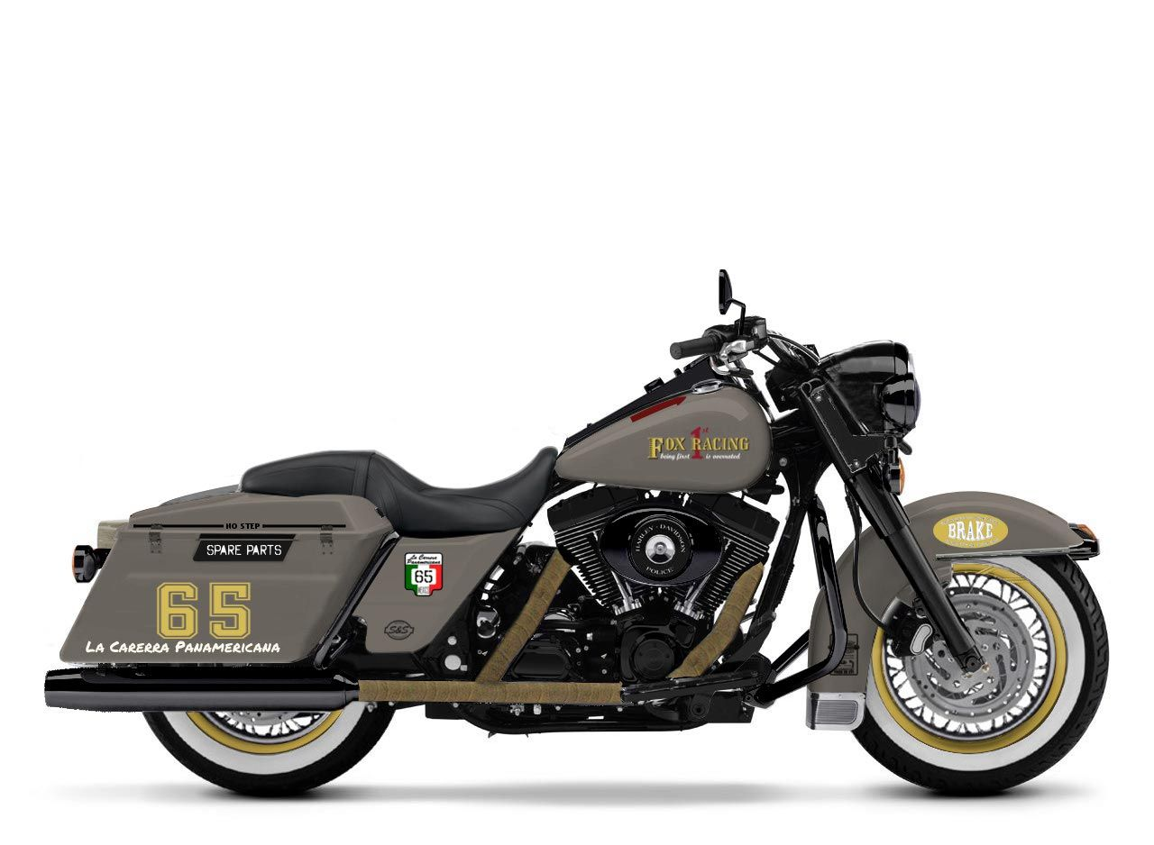 Harley Davidson: New Version Of My Harley Davidson Custom Bike On Road King