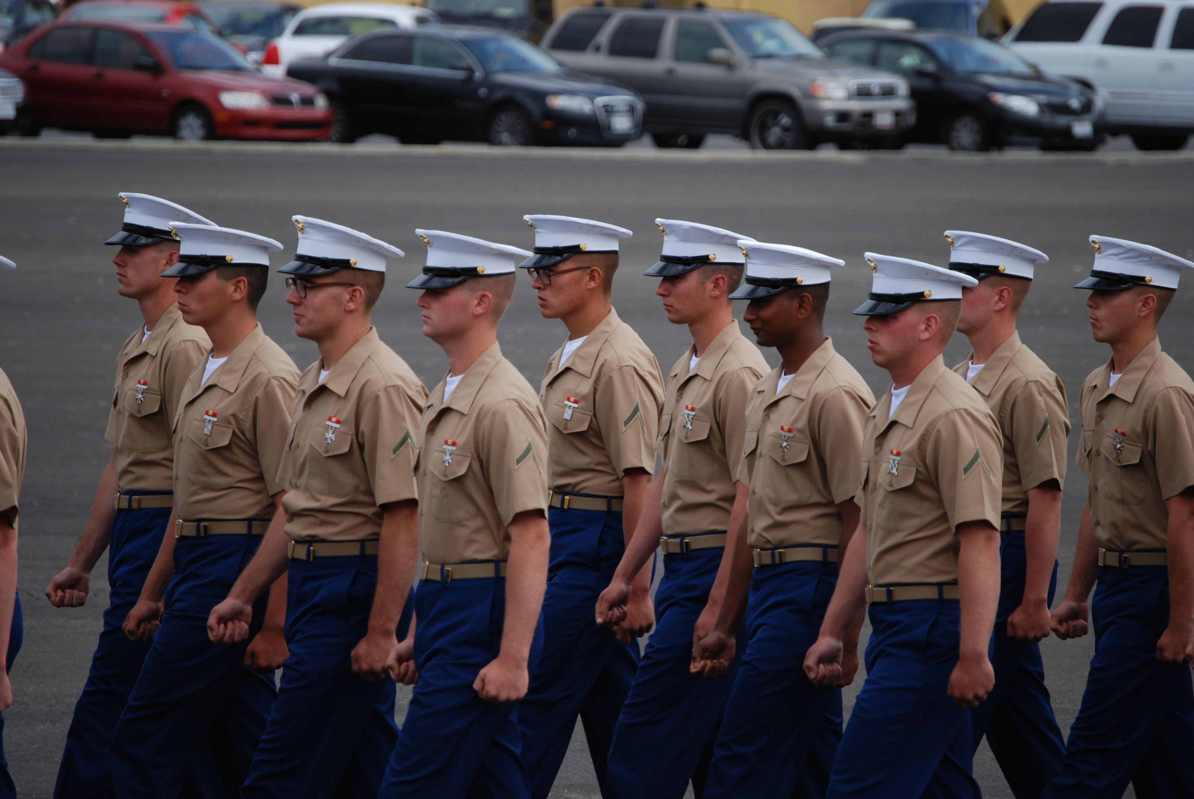 2011 MCRD Graduation - 3235 Kilo Co 3rd BN - San Diego, CA