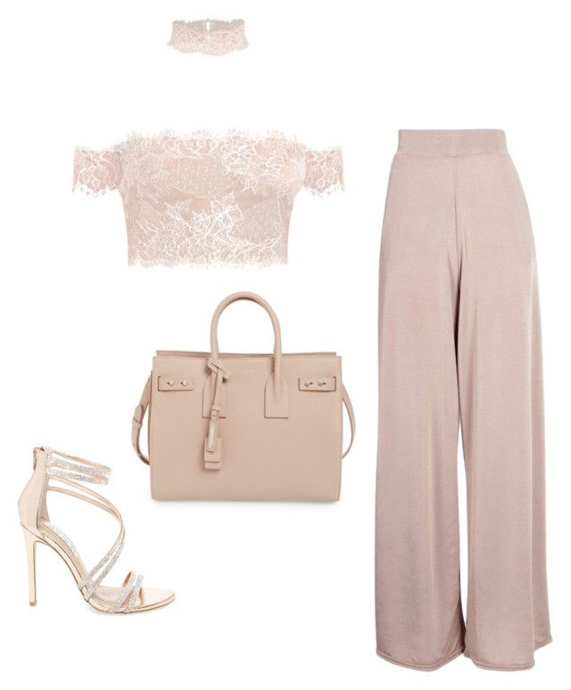 """Untitled #55"" by jsmalves on Polyvore featuring Yves Saint Laurent, Steve Madden and Boohoo"