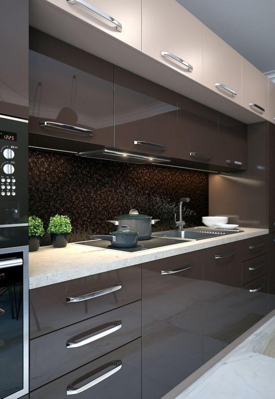 35 Awesome Kitchen Design Ideas To Rock This Season In 2020 Modern Kitchen Interiors Contemporary Kitchen Design