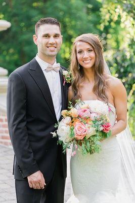 Danae and Mitch & # 39; s Wedding te zien op Inside Weddings! Bruid in Vera Wang Li …