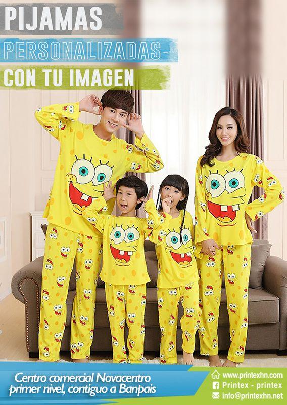 7ebe028e88 Pijamas Personalizadas con el personaje que tu prefieras.